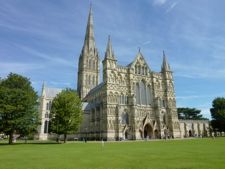 Salisbury Cathedral - click for larger image